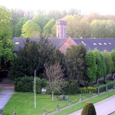 Pavillon tour vue château